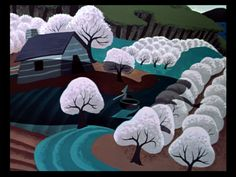 The Ballad of Johnny Appleseed, 1948 (designed by Mary Blair)