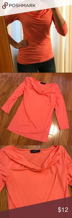 The Limited Coral Top This coral top is super comfy yet still can be dressed up or down! The Limited Tops Blouses