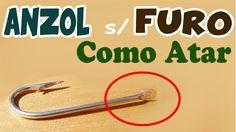 ANZÓIS de PATA: Aprenda o NÓ para Amarrar Anzol SEM FURO ou Anzol Chapin...