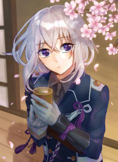 Touken Ranbu, Honebami Toushirou