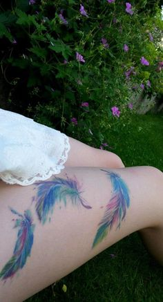 Another gorgeous colorful tattoo...water colour tattoos are rather astounding if I say so myself!