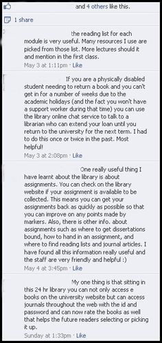Here are some of the wonderful 'my one things' that our customers posted on our library Facebook page.