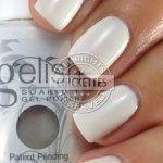 Gelish Sleek White Color Swatch