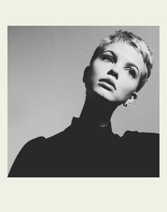 MICHAEL DONOVAN, MERETHE HOPLAND: i feel duty-bound to intensely appreciate all short-haired girls. especially a girl that evokes farrow/seberg/hornby all rolled into one.