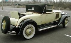 1929 Cadillac Roadster