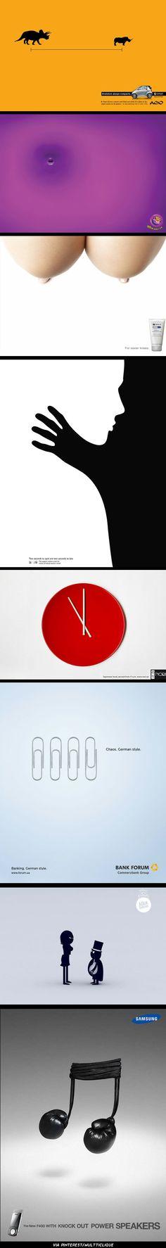 Publicidade minimalista