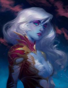 Master CG Art : stunning Fantasy character by Bao Pham Fantasy Girl, Fantasy Art Women, Arte Digital Fantasy, Fantasy Kunst, Fantasy Artwork, Fantasy Paintings, Character Portraits, Character Art, Fantasy Characters