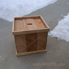 Wood Christmas Tree Base | Ana White