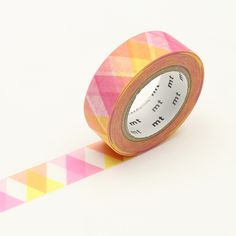 MT Triangle and Diamond Pink Washi Tape