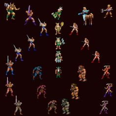 The Golden Axe Resource, Death Adder's Castle - Golden Axe Heroes Mega Drive Games, Sega Mega Drive, Computer Generated Imagery, Beat Em Up, Interactive Art, Sword And Sorcery, School Games, Pc Games, Video Game Art