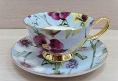 ** Šálek na čaj -malovaný porcelán **