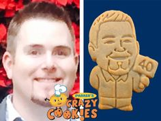 40th Birthday Party - Surprises - Custom Cookies - Personalized Favors - Edible Gifts