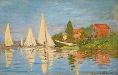 Hauling a Boat Ashore, Honfleur - Claude Monet - WikiPaintings.org