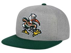adidas Miami Hurricanes Stacked Box Snapback Cap Men - Sports Fan Shop By  Lids - Macy s 266874fa5bab