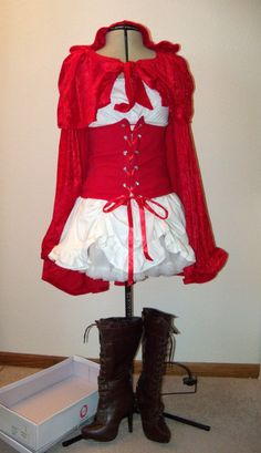 Little Red Riding Hood Costume by heartcard on Etsy, $90.00