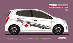 Sticker mobil Sorong, Agya & Ayla Sticker Design.  TRIBAL GRAPHICS jln. Trikora,Transad,Aimas Kab.Sorong Papua Barat Call/SMS/WA (0852-5434-4693)  #TribalGraphics #CuttingSticker #3DCuttingSticker #Decals #Vinyls  #Stripping #StickerMobil #StickerMotor #StickerTruck #Wraps  #AcrilycSign #NeonBoxAcrilyc #ModifikasiMobil #ModifikasiMotor #StickerModifikasi  #Transad #Aimas #KabSorong #PapuaBarat Sticker Design, Dan, Fringes