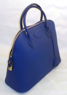 Hermes 37cm Sapphire Bolide Togo Leather...oh how i wish