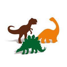 &JP4A Silhueta Decorativa Mundo Dos Dinossauros Sortido C/4 Unidad - Central 25 Festa Jurassic Park, 3rd Birthday, Birthday Parties, Extinct Animals, Dinosaur Party, Jurassic World, Rooster, Moose Art, Crafts For Kids