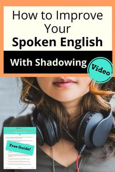 Learn to use audio recordings to improve your spoken English -- and have fun with your face while you do it! Watch the video and download the FREE resource page. American accent, accent modification, ESL, Shadowing, How to say English words English Tips, English Idioms, English Class, English Words, Learn English, English Language, Shadow Video, English Learning Spoken, Everyday English