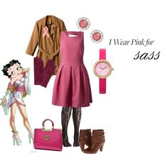 """Pink for sass"" by maria-kuroshchepova on Polyvore"
