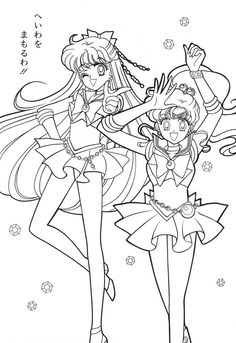 Sailor Moon Coloring Book9 016