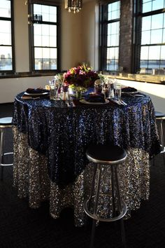 glam table setting