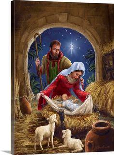 Christmas Scenery, Christmas Artwork, Christmas Paintings, Christmas Wallpaper, Christmas Pictures, Christmas Jesus, Christmas Nativity Scene, Christmas Greetings, Family Christmas