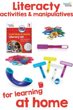 A perfect addition to your remote learning routine!  This kit comes with six weeks of lessons, activities, and games for your child to build school connections with their learning at home. This kit makes learning accessible for all students and is made to reinforce core instruction.  Use the planning calendar to plan your lessons, the activity book for practice, and the phoneme phone, finger focus highlighter, and magnetic wand and chips for hands-on learning. Literacy Stations, Literacy Centers, Spelling Activities, Book Activities, Sentence Building, Planning Calendar, Family Engagement, Making Words, Hands On Learning