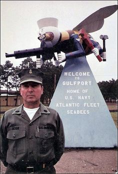 E.W. Rose  ... SeaBee ... Late 60s/Early 70s ?? Navy Military, Military Humor, Military Life, Us Navy Seabees, Military Shadow Box, Ww2 Uniforms, Go Navy, Veterans Affairs, War Photography