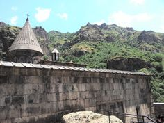 Armenia. El templo de Geghard