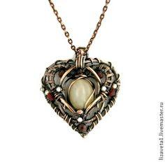 Кулон Кельтское сердце - сердце,сердечко,кулон с камнем,кулон сердце,кулон сердечко