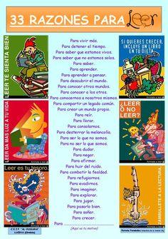 Razones (versión 2.0) :) Spanish Classroom, Teaching Spanish, Teaching Materials, Teaching Resources, Reading Library, Spanish Activities, Lectures, Conte, Phonics