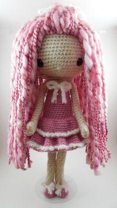 Lupita Amigurumi Doll Crochet Pattern PDF by CarmenRent on Etsy ☆