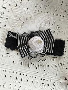 Bow bow baby headband