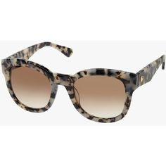 Sass and Bide Old Love Paris ($165) ❤ liked on Polyvore featuring accessories, eyewear, sunglasses, tortoise shell glasses, summer glasses, tortoise shell sunglasses, tortoiseshell glasses and uv protection sunglasses
