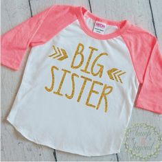 104 Best Big Sister Shirt Ideas Big Sister Announcement Images