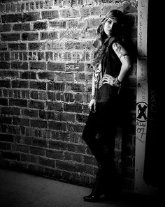 Yes everyone, that's my inspiration and role model Juliet Nicole Simms <3