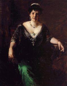 William Merritt Chase ~ Impressionist painter