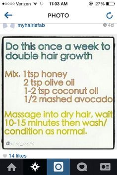 Said to double hair growth. Must follow instructions