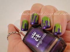 Halloween Nails by edwina