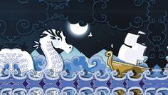Dragon des mers Dragon, Snoopy, Illustrations, Fictional Characters, Art, Art Background, Kunst, Illustration, Gcse Art