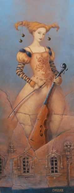"""La Violoniste"" -- by Catherine Chauloux"
