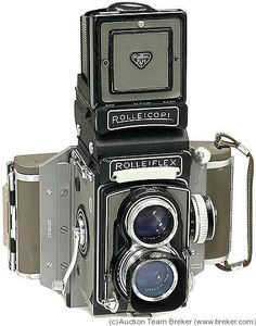 Rollei: Rolleiflex T Philips Model camera  Vintage Lomography  - Lomo ready cameras   - Vintage collectible cameras    www. Etsy.com/VintageLomography