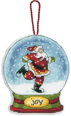 DIMENSIONS Joy Snow Globe Ornament, 627 руб