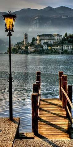 Lago de Como, província de Como, região da Lombardia, Itália. More