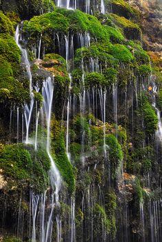 Exotic Little Waterfall. Romania