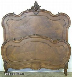antique french beds - Google Search