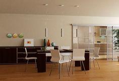 Rendering interno realizzato da render-lab Cucina - Soggiorno ...