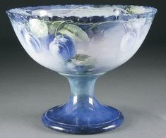 1914 CAC / Lenox American Belleek Punch Bowl & Stand