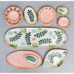 Tupfen - Pottery Ceramic Geschirr Töpfern Ceramics Dishes Home Crafts table wear - Yorgo Ceramic Clay, Ceramic Painting, Ceramic Plates, Ceramic Pottery, Pottery Art, Painted Pottery, Paint Your Own Pottery, Diy Clay, Clay Crafts